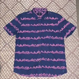 American Eagle Short Sleeve Classic Fit Button Up